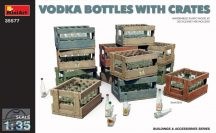 VODKA BOTTLES WITH CRATES - 1/35
