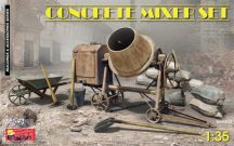 Concrete Mixer Set - 1/35