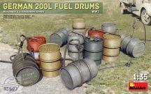 German 200L Fuel Drum Set WW2 - 1/35