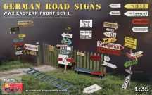 German Road Signs WW2 (Eastern Front Set 1) - 1/35