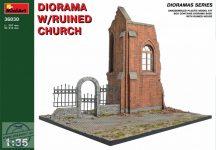 MiniArt - Diorama w/Ruined Church