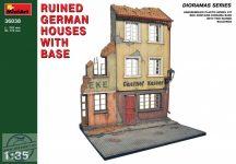 MiniArt - Ruined German Houses w/ Base