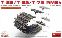 Miniart - T-55/T-62/T-72 RMSh Workable Track Links Set.Late Type