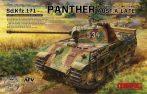 German Medium Tank Sd.Kfz.171 Panther Ausf.A Late