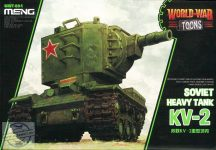 Soviet Heavy Tank KV-2 (cartoon model)