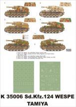 SD.Kfz.124 Wespe - Tamiya