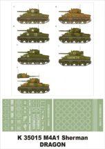M4A1 Sherman - 1/35 - Dragon