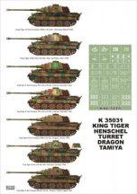 King Tiger - Tamiya, Dragon