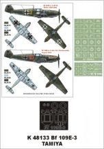 Bf 109E-3 – TAMIYA
