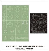 Martin Baltimore III/IV/V