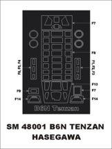 B6N Tenzan - Hasegawa