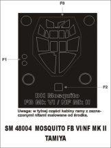 Mosquito FBVI/NF MkII - 1/48 - Tamiya