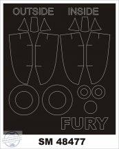 SEA FURY FB.11 - Airfix