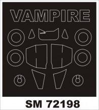 VAMPIRE T.11 - 1/72 - Airfix