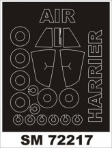 HS HARRIER GR.3 - Airfix