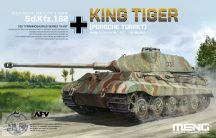 Sd.Kfz.182 King Tiger (Porsche Turret) - 1/35
