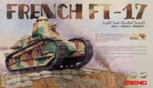 French Ft-17 Light Tank (Riveted Turret) - 1/35