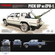 Dual Cab Toyota Hilux Pickup Zpu-1 - 1/35
