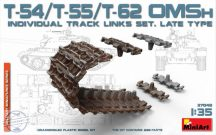 T-54/T55/T-62 OMSH Individual Track Links Set. Late type