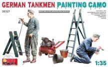 GERMAN TANKMEN CAMO PAINTING - 1/35