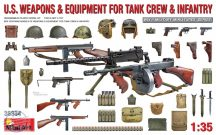 U.S. WEAPONS & EQUIPMENT FOR TANK CREW & INFANTRY - 1/35
