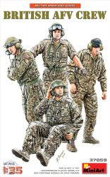 BRITISH AFV CREW - 1/35
