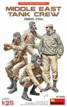 MIDDLE EAST TANK CREW 1960-70s - 1/35