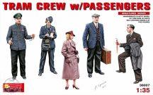 TRAM CREW w/PASSENGERS - 1/35