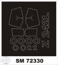 ZLIN 242L - 1/72 - AZ Model