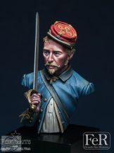 146th New York Zouaves Officer, 1863 - 1/16