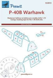 P-40B Warhawk - 1/48 - Airfix (inside-outside)