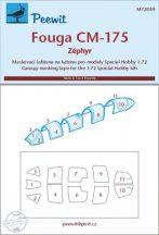 Fouga CM-175 Zéphyr - 1/72 - Special Hobby