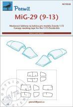 Mig-29 (9-13) - 1/72 - Zvezda
