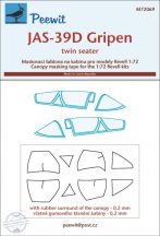 JAS-39D Gripen - 1/72 - Revell