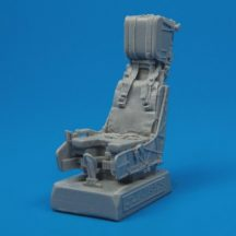 F/A-18C Hornet ejection seat with safety belts