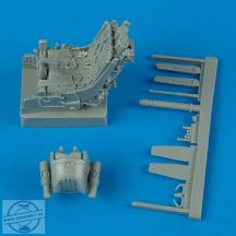 MiG-29A ejection seat with safety belts - 1/32