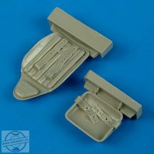 MiG-3 seat with safety belts - 1/32 - Trumpeter