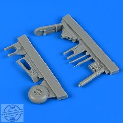 Fw 190F-8 tail wheel assembly