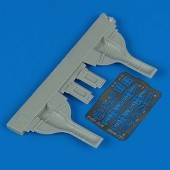 F6F-3 Hellcat undercarriage covers - Eduard