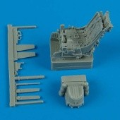 Su-25 ejection seat with safety belts - 1/48