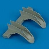 Mosquito wheel fenders - 1/48 - Tamiya