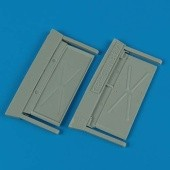 MiG-29A Fulcrum air intake covers - 1/48 - Academy