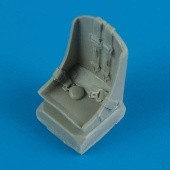 P-47D/M/N Thunderbolt seat with seatbelts - 1/48