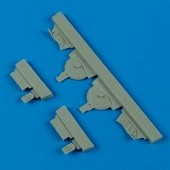 A6M5 Zero undercarriage covers - 1/48 - Hasegawa