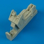 A-4 Skyhawk ejection seat with safety belts - 1/48