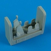 T-28 Trojan control lever and rudder pedals