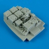 Me 410A radio equipments - 1/48 - Meng