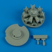 TBF/TBM Avenger engine. -Italeri/Academy/Accurat Miniatures