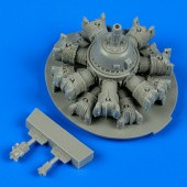 SB2C Helldiver engine. - Revell/Accurate Miniatures.