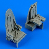 Mosquito Mk. IV seats with safety belts - 1/48